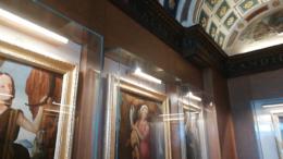 Le Muse, due delle opere esposte nell'ambito della mostra su Giovanni Sarti a Palazzo Ducale
