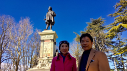 Turisti giapponesi a Urbino